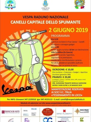 Calendario Vespa 2020.Vespa Club Alba